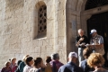 Via Crucis lungo la via Dolorosa a Gerusalemme
