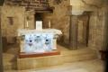 Alla Basilica dell'Annunciazione a Nazareth
